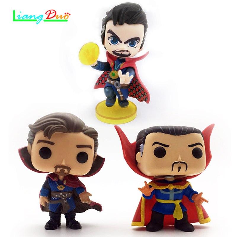 Super Hero pop playmobil cuadro de doctor strange POP Anime Action Figure PVC Model plastic hot toys collectibles for children