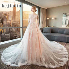 kejiadian Robe de mariage Wedding Dresses royal train