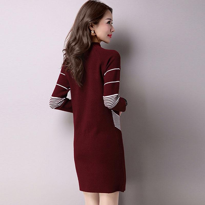 Sexy Turtleneck Dress