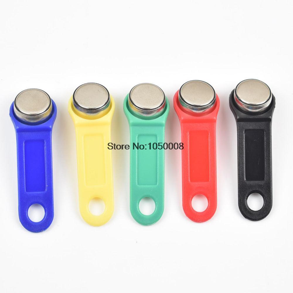10pcs/lot rewritable RFID Touch Memory key, RW1990 iButton,copy card, Sauna key