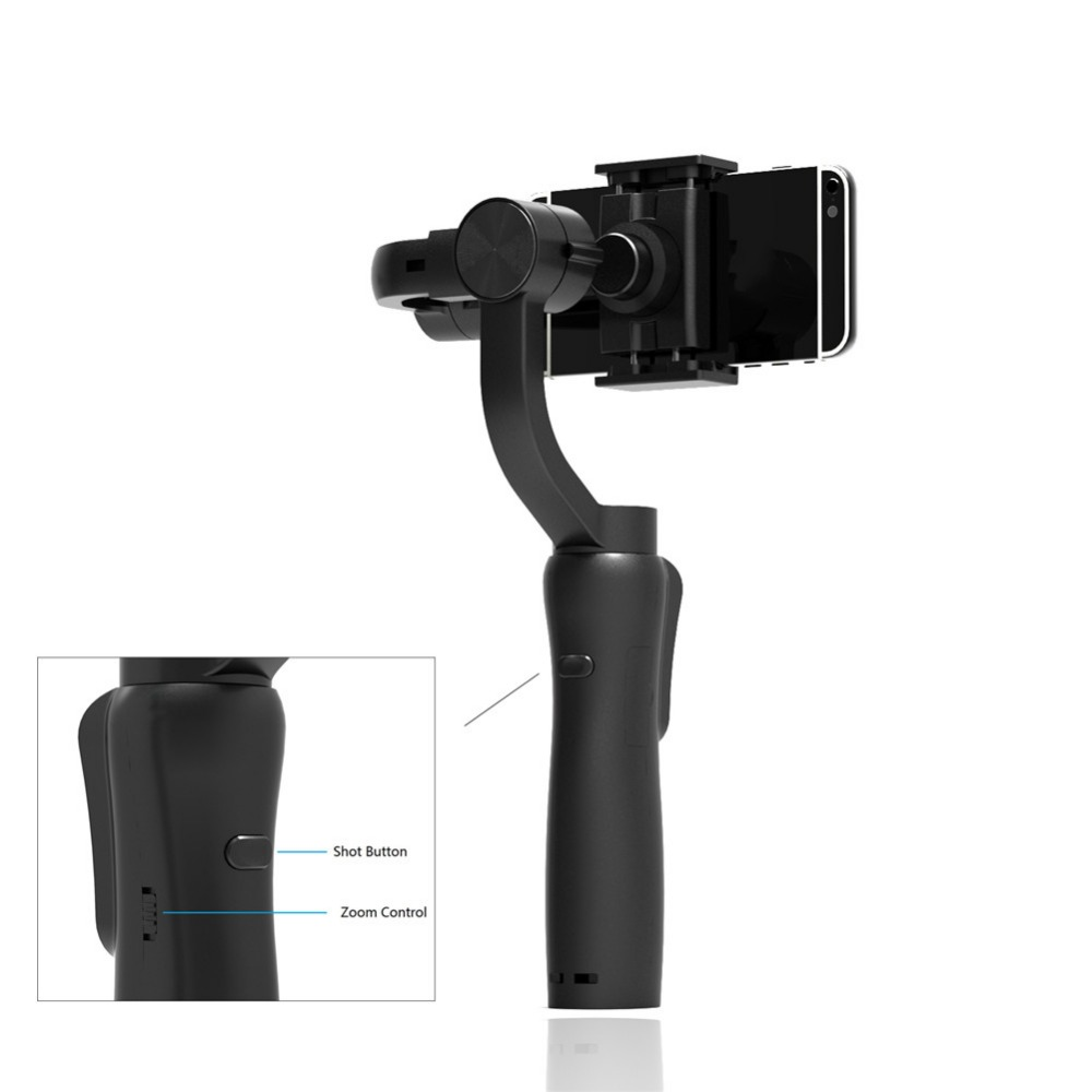 3-Axis Handheld Mobile Phone Gimbal Stabilizer for iphone Android Gopro