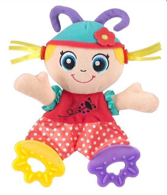 Sozzy Baby Toy Baby Mobiles Series Baby Plush Teether Dolls Intellectual Development Emotional Gripping Sensory Visual Toy #F