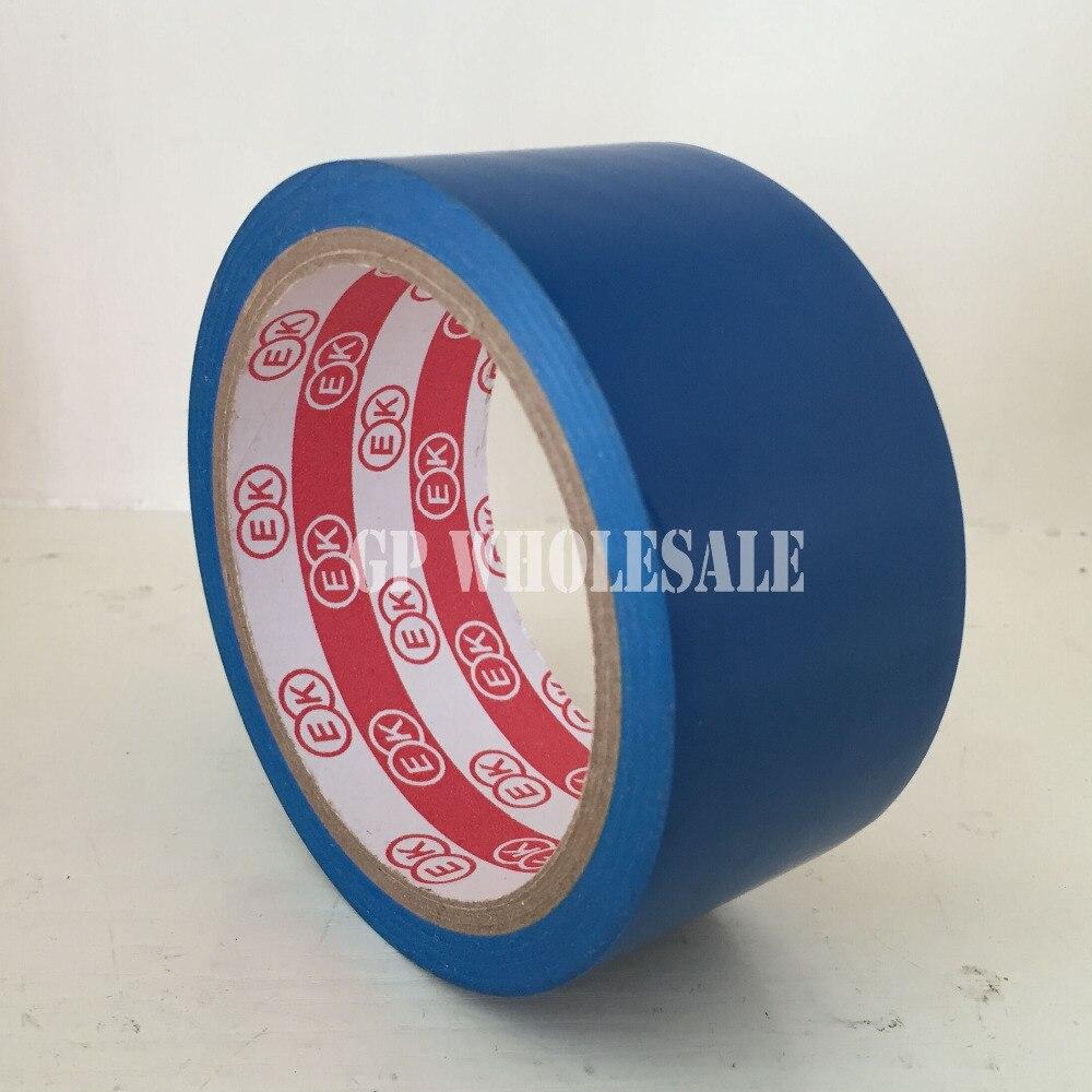 1x4,5 см* 18 метров клей пол Предупреждение Двухсторонняя клейкая лента для сенсорного экрана/рабочая зона лента для предупреждения/Дорожный цветной скотч синий