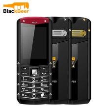 แบตเตอรี่ขนาดใหญ่กลางแจ้งโทรศัพท์มือถือ GSM IP68 กล้อง