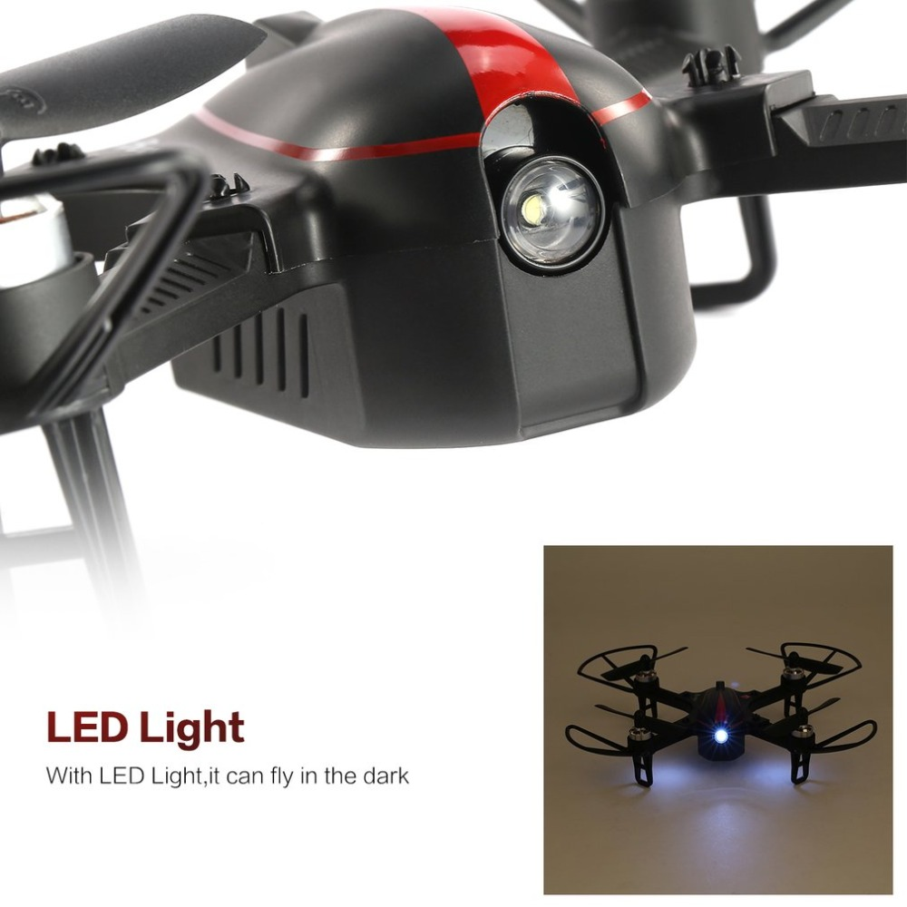 MJX B3 RC Mini 2.4GH 4CH Borstelloze 1306 2750KV Motor Drone Hoek en Acro Modus Flip & Roll RC Quadcopter met LED Licht - 4