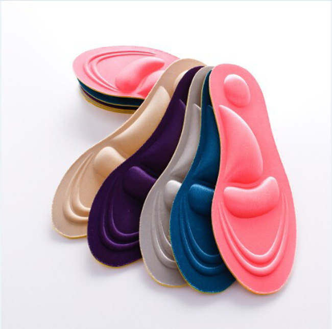 Free shipping 200paris/lot 3D Sponge Soft Insole Comfort High Heel Shoe Pad Pain Relief Insert Cushion Pad astraea electric bass bag 600d nylon oxford 10mm thick sponge soft case 125cm free shipping
