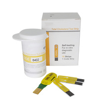 10 Шт. Холестерина Тест-Полоски Глюкозы В Крови 50 Тест-Полоски для CE Bluetooth 4.0 Глюкозы/Холестерин 2in1 Метр монитор