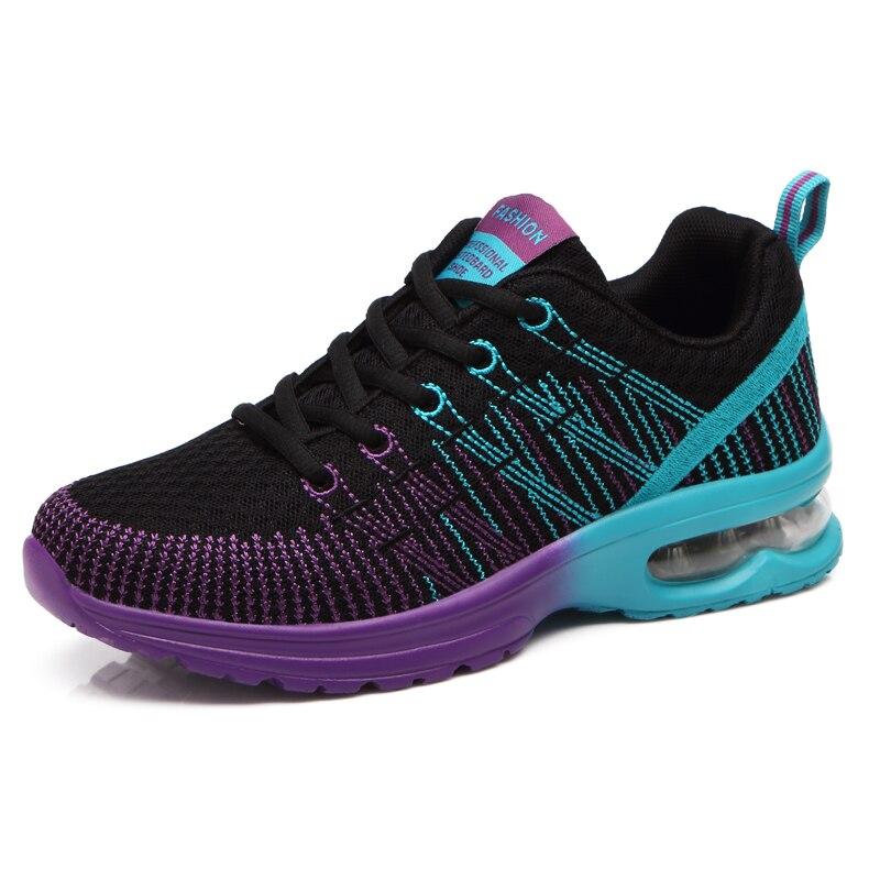 ФОТО 2016 Lightweight Mesh Sneakers Girls Sport Shoe Air Colorful Women Trainers Running Hot Sale Damping Athletic Women Running Shoe