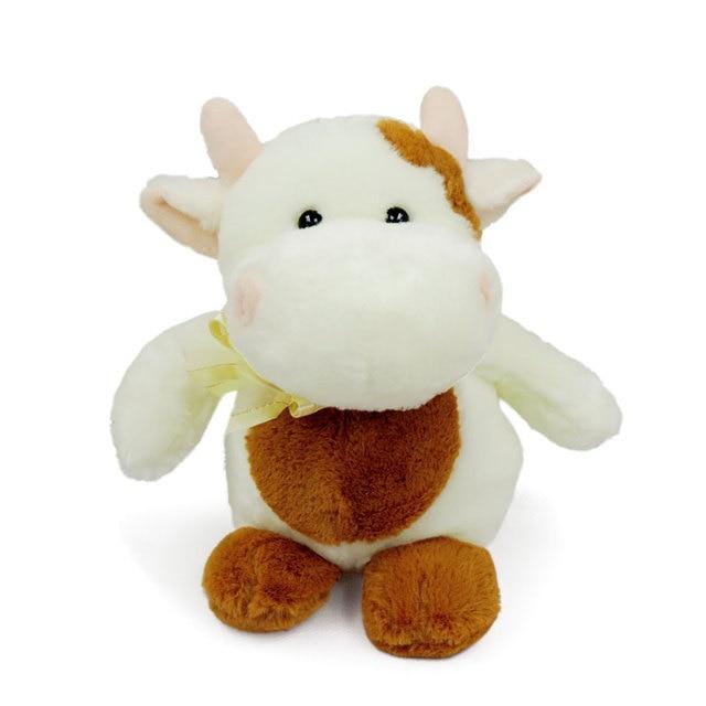 22cm Small Cute Dairy Cow Calf Cattle Plush Toys Stuffed Animals