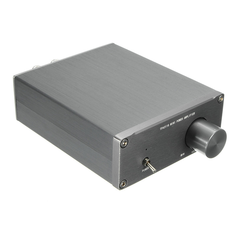 Audio HiFi Class 2.0 Audio Stereo Digital Power Amplifier TPA3116 Advanced 2*50W Mini Home Aluminum Enclosure amp NEW new 3pcs set chrome vanadium steel socket adapter hex shank to 1 4 3 8 1 2 extension drill bits bar hex bit set power tools