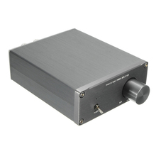 Big discount Audio HiFi Class 2.0 Audio Stereo Digital Power Amplifier TPA3116 Advanced 2*50W Mini Home Aluminum Enclosure amp NEW