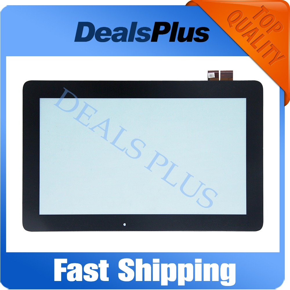 Replacement New Touch Screen Digitizer Glass For ASUS Transformer Book T200 T200TA TOP11H86 V1.1 11.6-inch Black Free Shipping new for asus eee pad transformer prime tf201 version 1 0 touch screen glass digitizer panel tools