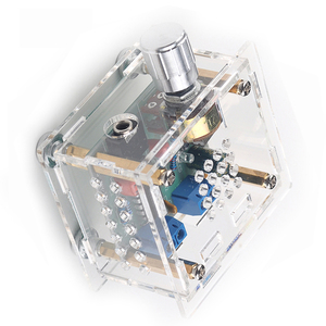 Image 3 - USB المحمولة مكبر كهربائي صغير مجلس ايفي CM2038 مضخم الصوت قناتين 5 واط + 5 واط مجلس DC5V مع علبة مكبر الصوت D5 002
