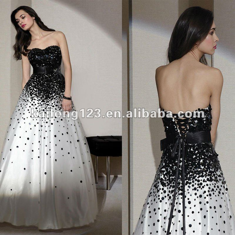 Aliexpress.com : Buy Elaborate Strapless Ball Gown Floor length ...