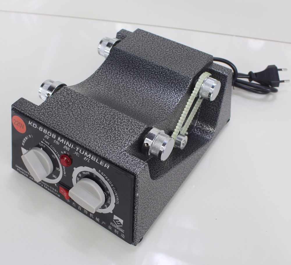Chuyền! Mới! KD-6808 Dung Lượng 3Kg Quay Tumbler Máy Đánh Bóng Trang Sức Máy Đánh Bóng Xoay Hoàn Thiện