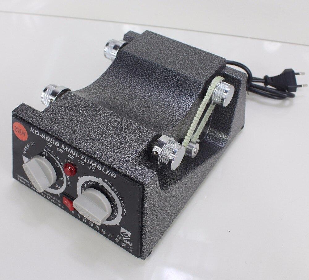 Livraison gratuite! Nouveau! KD-6808 capacité 3kg rotatif gobelet polissage machine bijoux polisseur rotatif finition - 3