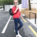 Jeans For Girls Autumn Winter Warm Jeans Skinny Mid Casual Thick Denim Pant Trousers Girls Children Clothing