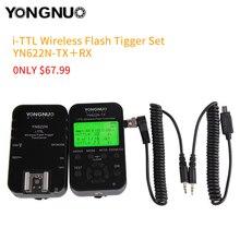 YONGNUO YN-622N-TX + RX YN-622N комплект я-TTL ЖК-дисплей Беспроводной внезапный набор для Nikon D800 D800S D600 D610 D7200 D7100