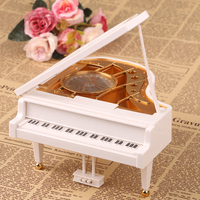 2016 New Style Rotary Classical Ballerina Girl On The Piano Music Box Music Box Ballerina Music