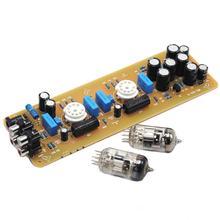 X-10D Musical Fidelity 6N11 Tube Buffer stereo Dual channel Pre-amplifier Board цена и фото