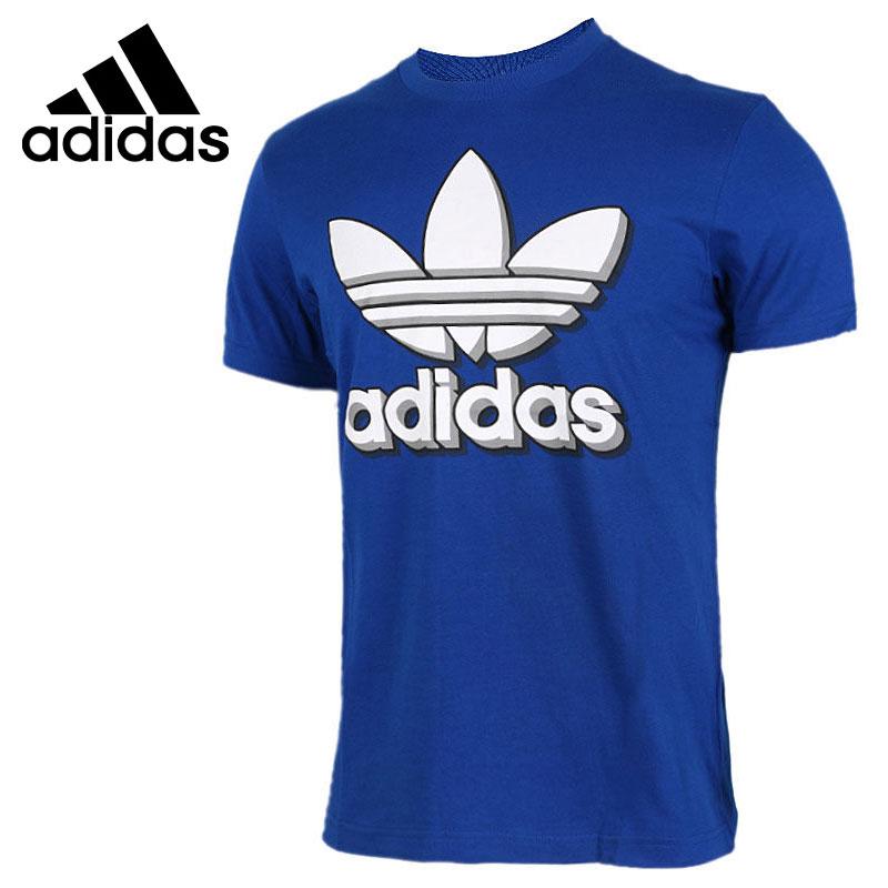 Original New Arrival 2017 Adidas Originals Men's T-shirts short sleeve Sportswear  цены онлайн