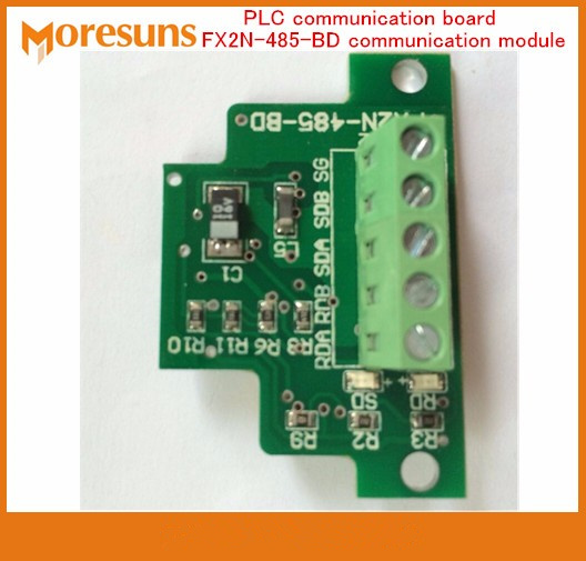 Fast Free Ship 3PCS/lot PLC communication board FX2N  series expansion board FX2N-485-BD communication module