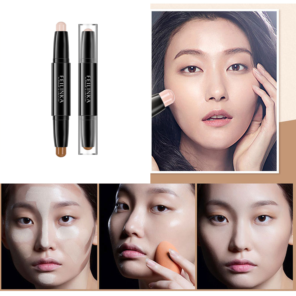 1Pcs Magical Concealer Stick Foundation Makeup Full Cover Contour Face Concealer Cream Base Primer Moisturizer Hide Blemish image