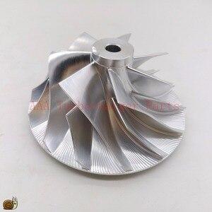 Image 2 - Turbocompressor de pneu de bileta hx40/hx40w, peças do turbocompressor da roda 60x86mm, 7/7