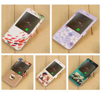 For Xiaomi Redmi Note 4X Case Printing View Window Flip Stand Leather Cover For Redmi Note