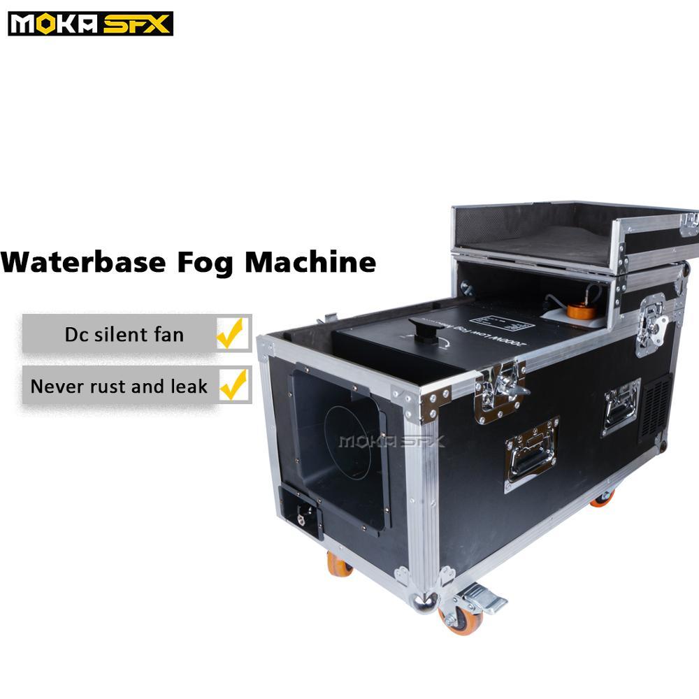 4pcs/lot 2000w Water Base Fog Machine DMX Control Low Smoke Effect Stage Fog Machine for Stage DJ Club Wedding Show Decoration