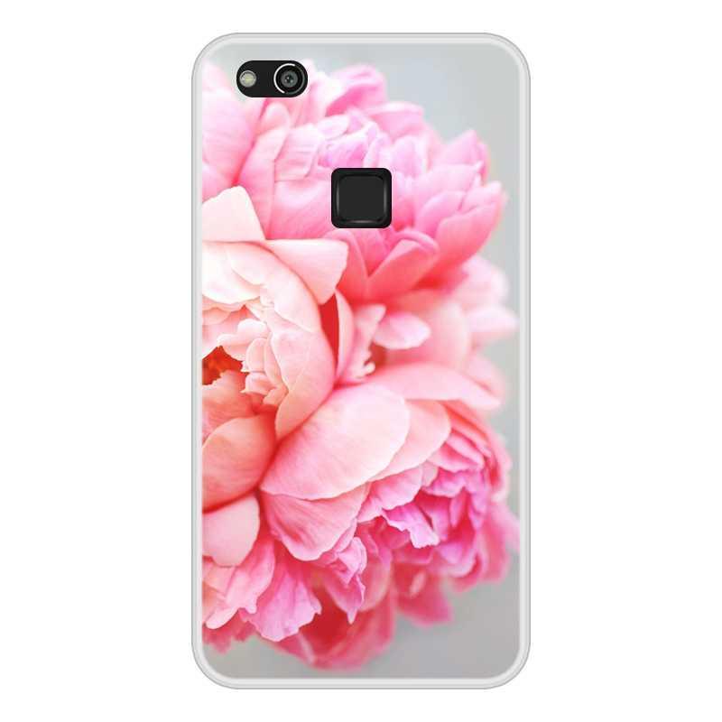 Telefon kılıfı için Huawei P10 Lite P10Lite yumuşak silikon TPU serin tasarım desenli boyama Coque Huawei P10 Lite durumda kapak