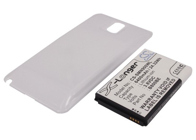 Battery for SAMSUNG Galaxy Note 3, Galaxy Note III,SC-01F, SGH-N075, SM-N900 ,SM-N900K,SM-N900P,SM-N900R4,SM-N900S,SMN900VZWE