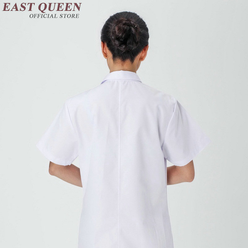 Medical clothing 2017 summer nursing scrubs clothes short sleeve medical uniforms beauty shop hospital women work dress KK989 HQ