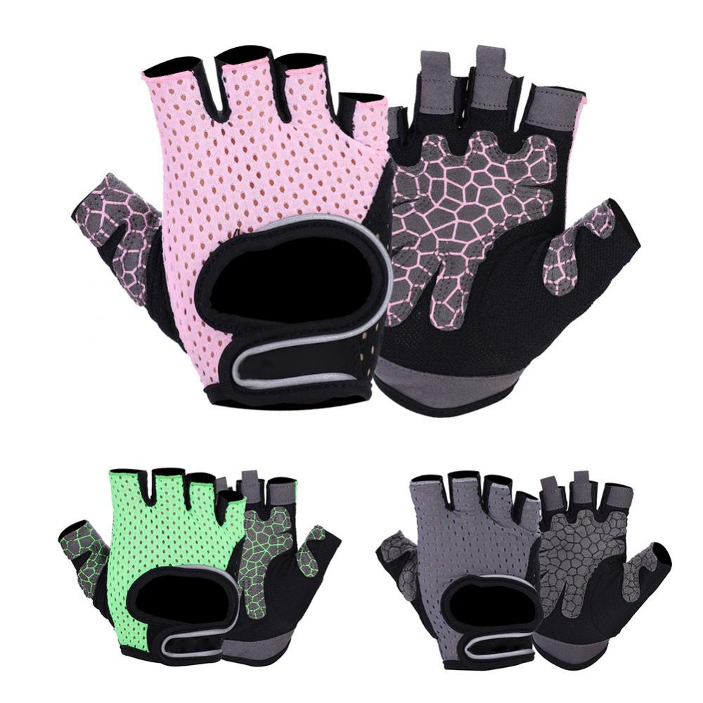 Outdoor Fitness Gloves: Fitness Gloves Microfiber Breathable Gym Sports Weight