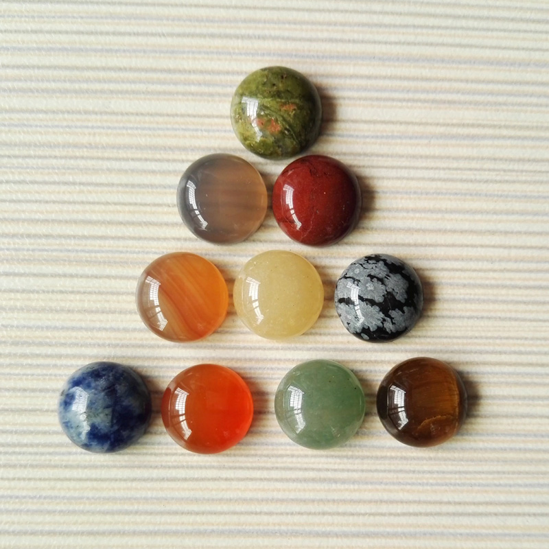 Assorted Cabochon Ruble Stone