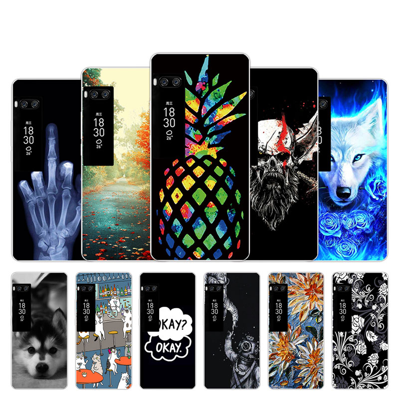 For <font><b>Meizu</b></font> Pro 6 7 Plus U10 U20 X8 <font><b>M6T</b></font> Soft Silicone <font><b>Case</b></font> Space Design For <font><b>Meizu</b></font> M5 M6 Note M5S M6 Mini <font><b>TPU</b></font> Fundas Para Coque image