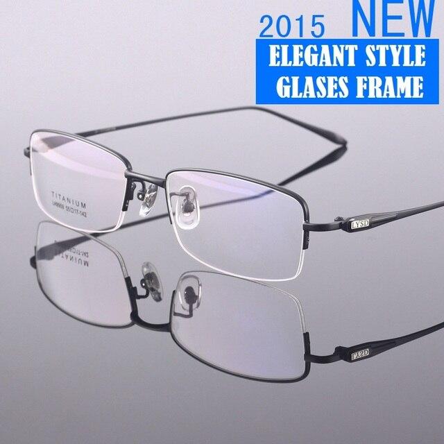 Свет мода оптически рамка титан очками кадры мужчины