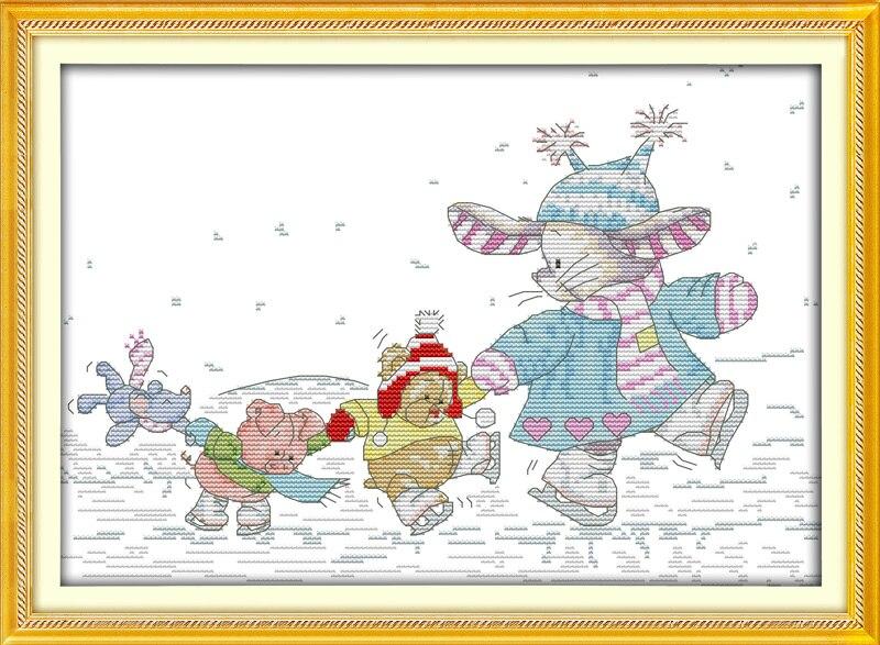 ②Alegría Domingo estilo de dibujos animados conejo parche patinaje ...
