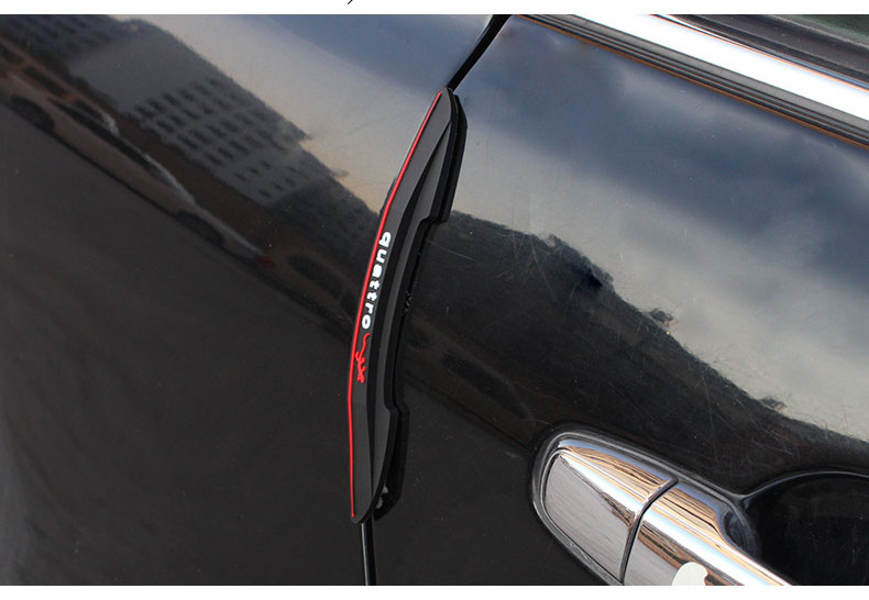 Image 3 - CHIZIYO 4pcs/Set Car Anti Collision Strip Auto Door Bumper Edge Guards Sticker Car Scratch Protection Tape-in Car Stickers from Automobiles & Motorcycles