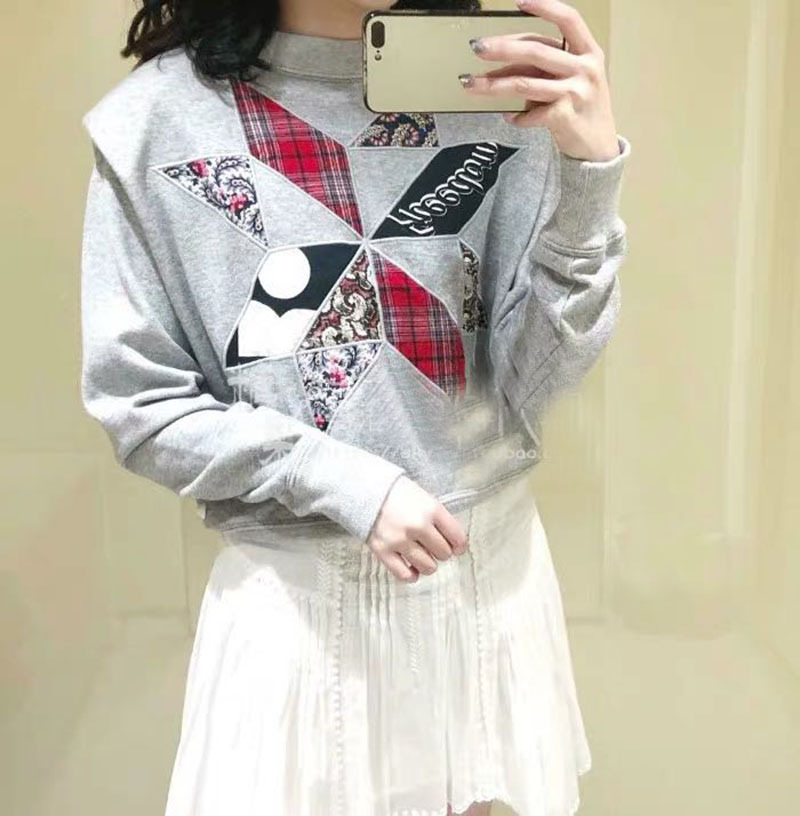 Women Hoodies Spring New 2019 Sweatshirt Femme Clothes Casual Preppy Style Long Sleeve Print Embroidery