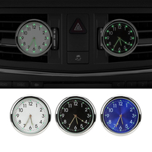 LEEPEE Quartz Clocks Car Clock Luminous Analog Watch Ornaments Air Outlet Decoration Car Electronics