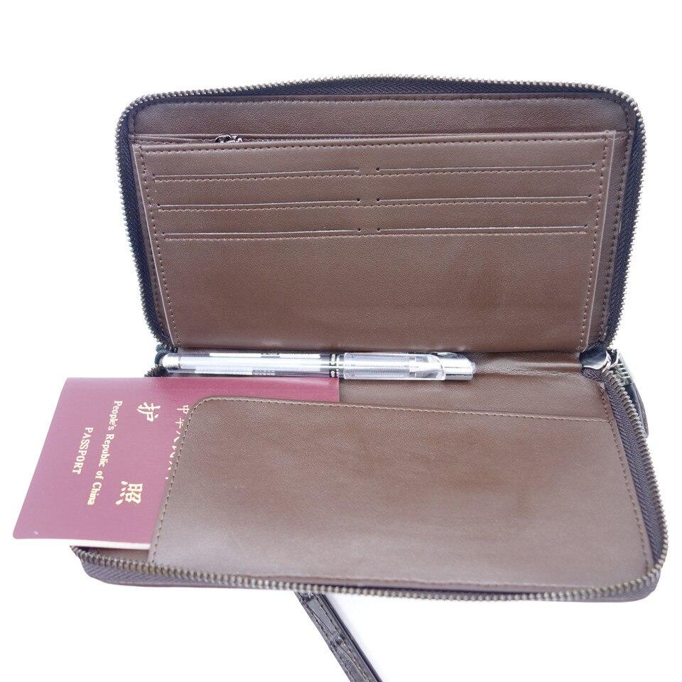 Men Passport Wallet +Passport Holder +Business Card Holder + ...