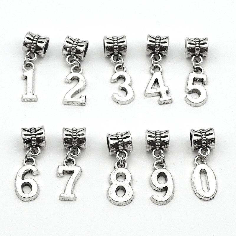 charm numeri pandora