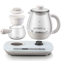 Glass Tea Brewing Black Tea Set Electric Kettle Teapot 0.8 Liter Capacity