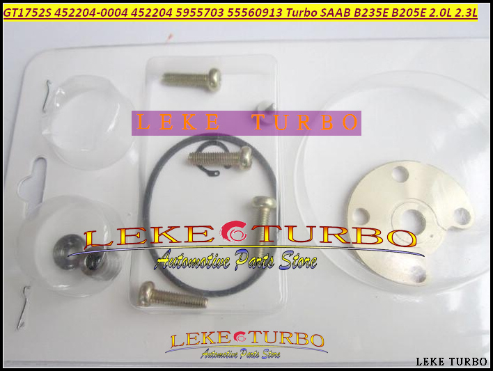 Turbo Repair Kit rebuild GT1752S 452204-0004 452204 5955703 55560913 Turbocharger For SAAB 9-3 9.3 9-5 97- B235E B205E 2.0L 2.3L free ship gt1849v 717626 717626 5001s turbo turbocharger for opel vectra signum for saab 9 3 9 5 9 3 9 5 y22dtr 2 2l dti 123hp