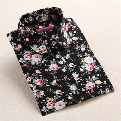 HTB1GmDFavLsK1Rjy0Fbq6xSEXXa0 Dioufond Long Sleeve Blouse Women Cotton Vintage Floral Plus Size Female Blouse Fashion Women Shirt Clothing Spring Autumn Tops