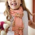 Осень и зима новый детский шарф Прилив супер мягкий медведь Шарф мальчиков и девочек ребенка шарфы