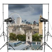 150x220cm London Eye Photography Background Westminster Palace Backdrop European theme Studio Props Wall
