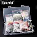 Metall film Widerstand sortiment kit led dioden Elektrolytkondensator Keramik set transistor Pack diy elektronische komponenten Kits