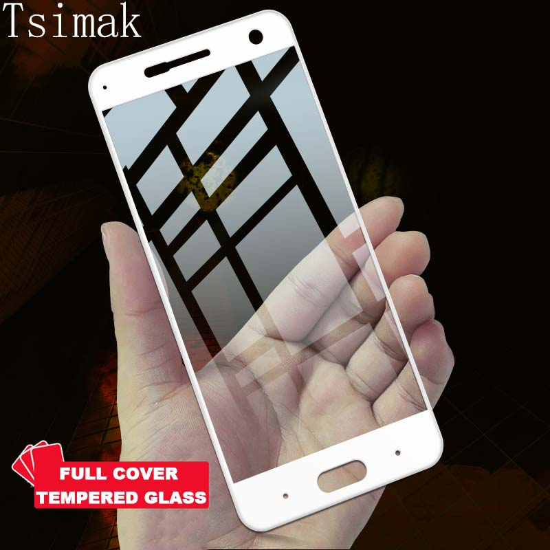 Tsimak Full Cover Tempered Glass For ZTE Blade V8 Screen Protector Toughened Protective For ZTE Blade A2 A2S Plus Coverage Film